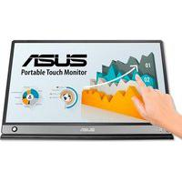 Monitor Portátil Asus Led 15.6 Touch, Full Hd, Ips, Usb-C, Micro Hdmi, Ultra Leve, Cinza Escuro - Mb16Amt