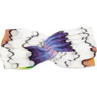 Missoni Mare Headband De Tricô - Branco