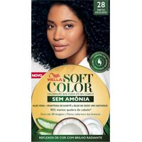 Tintura Soft Color Sem Amônia Preto Azulado 28 Kit