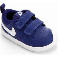 Tênis Infantil Nike Pico 5 Velcro - Masculino-Azul Royal+Branco