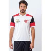 Camiseta Flamengo Zico Retro Branca