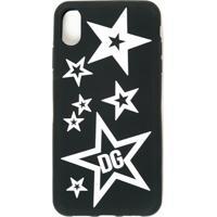 Dolce & Gabbana Case Para Iphone Xs Max - Preto