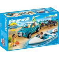 Playmobil Summer Fun - Veículos E Mini Figuras - Surfista - 6864 - Sunny