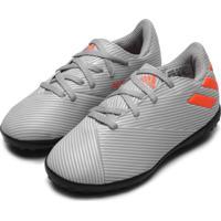 Chuteira Adidas Performance Menino Nemeziz 19 4 Tf Jr Cinza