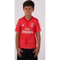 Camisa Adidas Real Madrid Third 2019 Juvenil