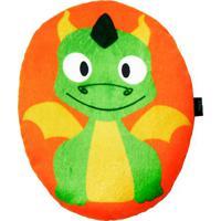 Travesseiro Dragão- Laranja & Verde- 4X27X20Cm- Bright Starts