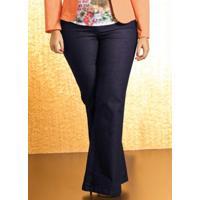 Calça Flare Plus Size Jeans