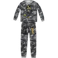 Pijama Pirata- Cinza Escuro & Preto- Primeiros Passopuc
