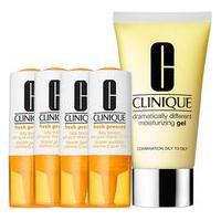 Kit Facial Clinique Fresh Pressed Vitamina C + Gel Hidratante Dramatically Different Moisturizing 50Ml