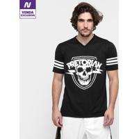 Camiseta Pretorian American 2 Masculina - Masculino-Preto