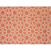 Tapete Dhurie Moroccan 9 Rust/White
