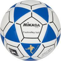 Bola De Futevôlei Mikasa Ft-S - Branco/Azul