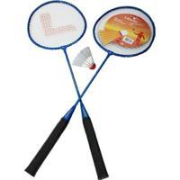 Raquete Leader Kit Para Badminton - Unissex