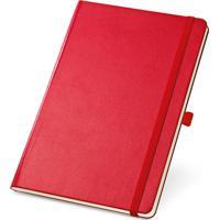 Caderneta De Anotações Topget 13,7X21Cm 80 Folhas Sem Pauta - Vermelho