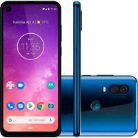 Smartphone Motorola One Vision 128Gb Xt1970-1 Desbloqueado Azul Safira