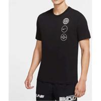Camiseta Nike Wild Run Masculina Preto