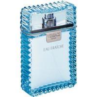 Perfume Versace Man Eau Fraiche Masculino 100Ml Versace - Masculino-Incolor