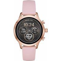 Smartwatch Michael Kors Runway Feminino - Feminino-Rosa