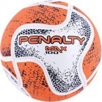 Bola De Futsal Penalty Max 100 Termotec Viii - Branco Coral 40f2842a84ff5
