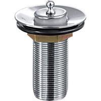Válvula Para Banheiro Com Ladrão Cromado - Esteves - Esteves