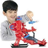 Veículo Spider Man Hasbro Com Helicóptero