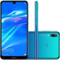 Smartphone Huawei Y7 2019 32Gb Dub-Lx3 Desbloqueado Azul