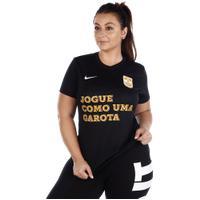 Camisa Nike X Jogue Como Uma Garota Feminina