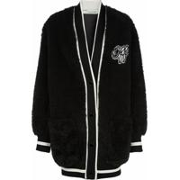 Off-White Cardigan 'Varsity' - Preto