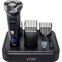 Barbeador Gsh950, 3 Lâminas, Seco E Molhado Gama Italy Bivolt