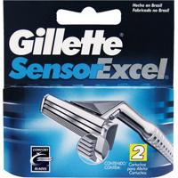 Carga Gillette Sensor Excel Com 2 Unidades