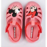 Sandália Bebê Minnie Mickey Grendene Kids 21679