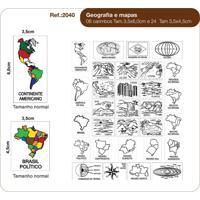 Carimbos Geografia E Mapas - Kanui