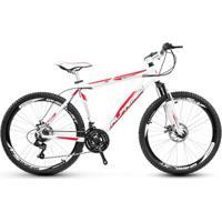 Bicicleta Aro 26 Alfameq Stroll Freio À Disco 24 Marchas - Unissex