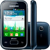 "Smartphone Samsung Galaxy Y Plus Gt-S5360 Azul - 2Mp - Bluetooth - 3G - Wi-Fi - 3"" - Android 2.3"