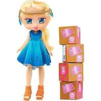 Boneca Boxy Girl 4200 Com Acessórios - Unissex-Incolor