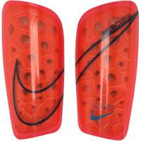 Caneleira De Futebol Nike Mercurial Lite Grid - Adulto - Rosa/Preto