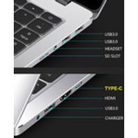 Lado Estreito Ângulo De Visão Amplo Laptop Ultrafino Longo Tempo Standby Netbook Computador Slim Full Hd Eye Care Display Para Windows 10 Buissness /