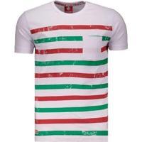 Camiseta Fluminense Listrada - Masculino