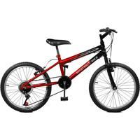 Bicicleta Master Bike Aro 20 Masculina Ciclone Plus Vermelho