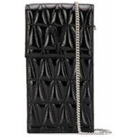 Versace Porta-Celular Matelassê Virtus - Preto