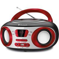 Som Portátil Mondial Bx-20 Bluetooth Rádio Fm Usb Entrada Auxiliar Antena Telescópica - Bivolt