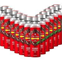 Kit 12 Desodorantes Old Spice Lenha 150Ml