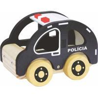 Carrinho Newart Toys Polícia Multicolorido