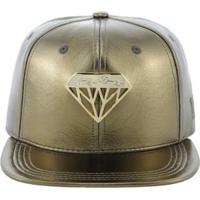 Boné Young Money Diamante - Unissex-Ouro Velho