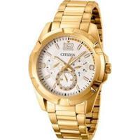 Relógio Citizen Chronograph Tz20322H Masculino - Masculino-Dourado