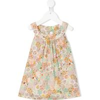 Bonpoint Blusa Sem Mangas Com Estampa Floral - Neutro
