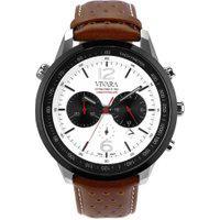 Relógio Vivara Masculino Couro Marrom - Ds13700R1K-1