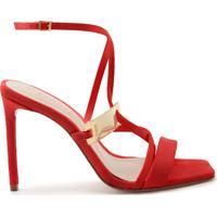 Sandália Curves Hardware Red | Schutz