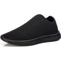 Tênis Mr Shoes Caminhada Leve Academia Masculino Preto