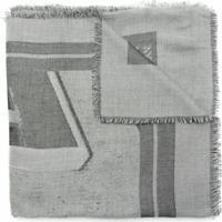 Emporio Armani Lenço Com Estampa - Cinza